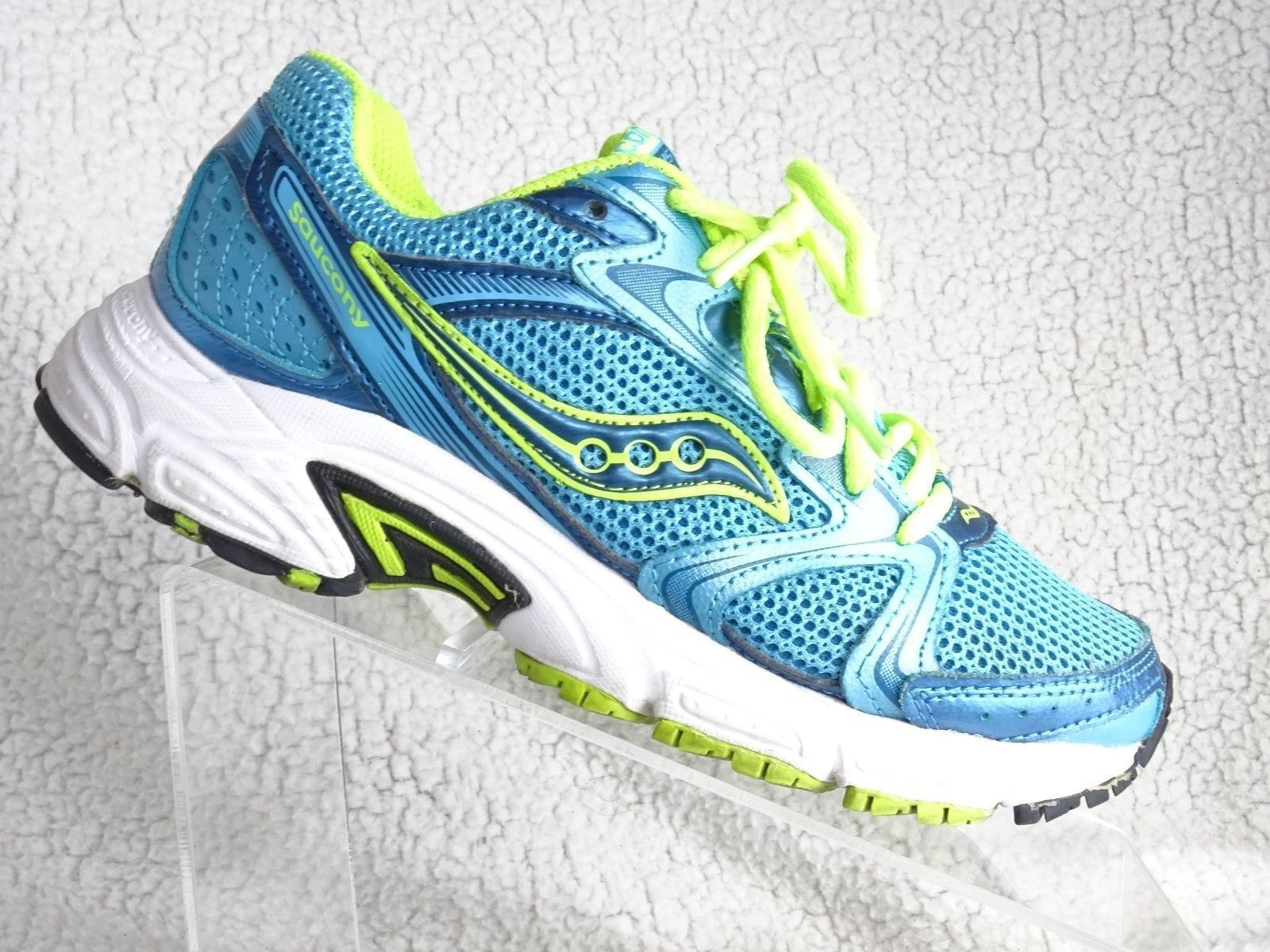 ae41450e9264 Saucony OASIS 2 Women's Sz 7 Blue Mesh Sneakers Laces S15209-5 Running Shoes