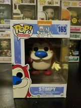 Funko Pop! Animation Nickelodeon Ren and Stimpy #165 Vinyl Figure WITH P... - $21.06