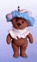 Hallmark Keepsake Miniature Ornament Teddy-Bear Style 2000 - $4.95