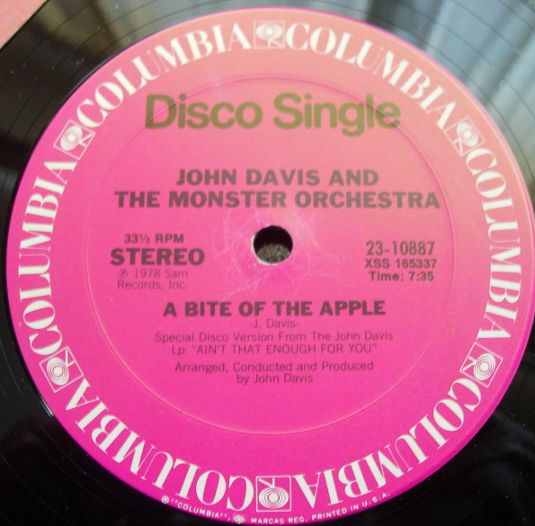 John Davis & Monster Orchestra - Ain't That Enough For You - Columbia 23-10887