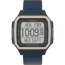 Timex Command Urban 47mm - Black Case w/Blue Strap - $87.79