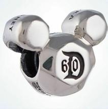 New Pandora Charm Disney Mickey Mouse Disneyland 60th Anniversary 791558 - $89.09