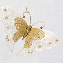 Brilliant Butterflies Gold 2018 Hallmark Ornament - $22.76