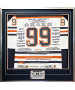Wayne Gretzky White Career Jersey #1 of 99 - Autographed - Edmonton Oilers - $7,359.00