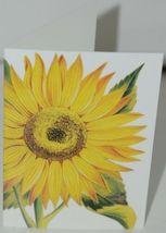 Caspari 7961446 Sunflower 8 Assorted Boxed Notes and Envelopes 2 Designs image 4