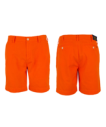 """$99 Polo Ralph Lauren Men's Straight Fit 8"""" Chino Shorts, Neon Orn, Size 36 - $69.29"""