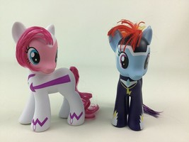 My Little Pony Power Ponies Rainbow Dash and Pinkie Pie 2pc Lot Doll Has... - $19.55