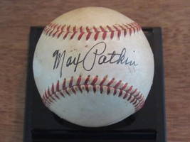 Max Patkin Clown Prince Of Baseball Signed Auto Vintage Gu Giles Baseball Jsa - $247.49