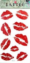 Ggsell King Horse New Design Red Lip Temporary Tattoo Stickers - $13.19
