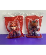 Lot of 2 Marvel Heroes Happy Meal Toys Falcon #1 Scarlet Witch #4 2020 M... - $9.89