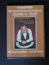 Martin A. Nash — Award Winning Card Magic, Volume 3 — New, Factory Sealed - $25.00