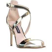 Nine West Mydebut Dress Heel Sandals, Light Gold - $34.99