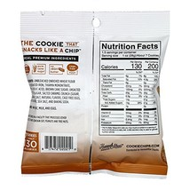 Snack Food Chip HannahMax Sea Salted Caramel Crunch Cookie Chips 24 Coun... - $42.47