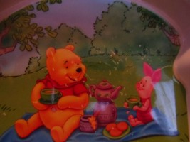 Disney Winnie the Pooh Character Plastic Divided Kids Plate image 2