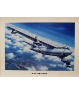 """Unframed Print (12"""" X 16"""") of a Boeing B-47 Stratojet climbing to altitude. - $10.84"""