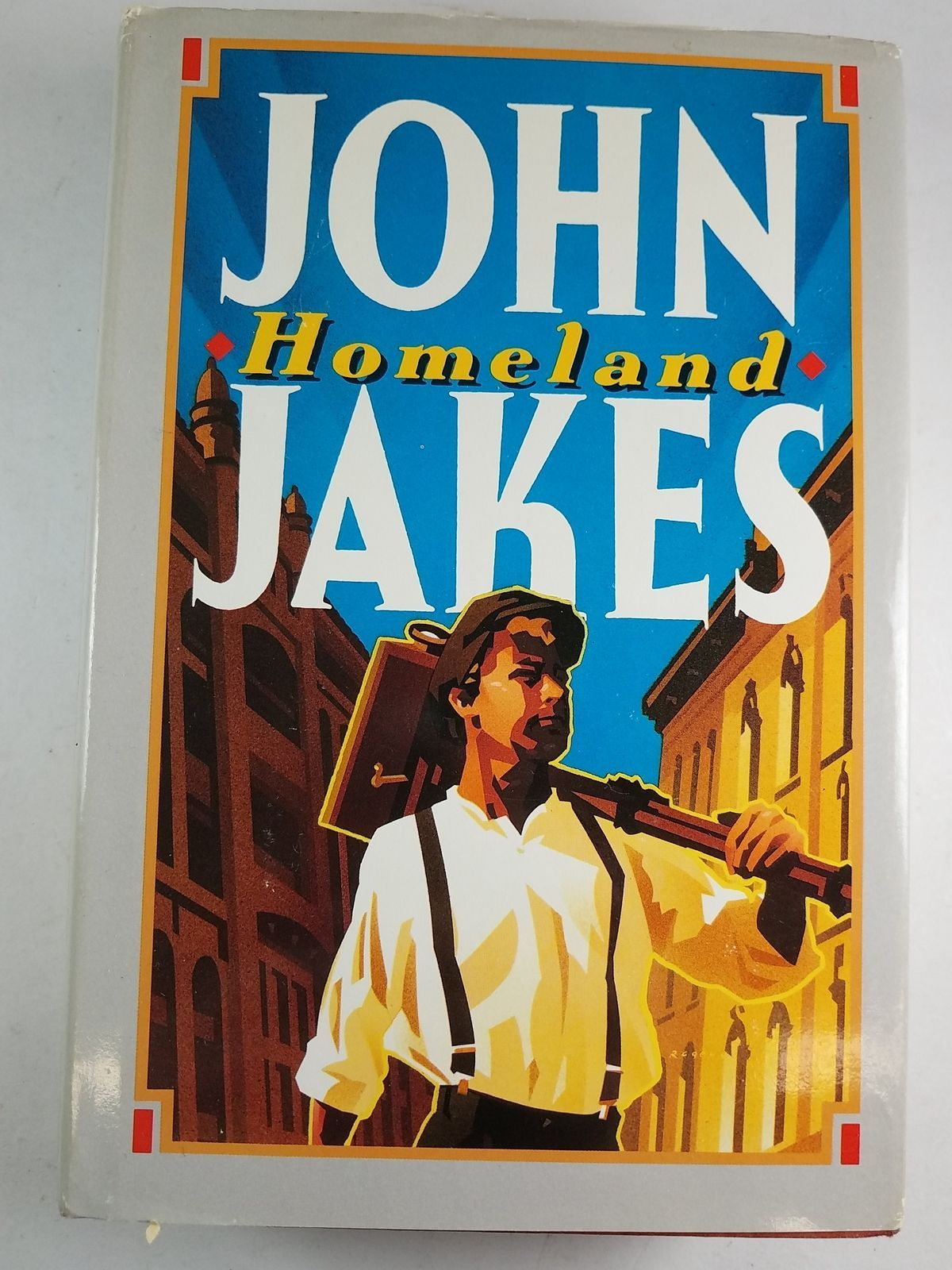 an analysis of the novel homeland by john jake Immediately download the homeland summary, chapter-by-chapter analysis, book or teach homeland by john jakes historical novel, the people's author.
