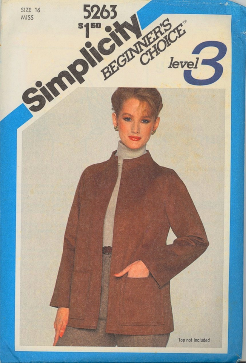 Auction 62 s 5263 suede jacket 16 1981