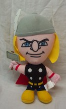 "Marvel Super Hero Squad Thor Character 8"" Plush Stuffed Animal Toy The Avengers - $14.85"