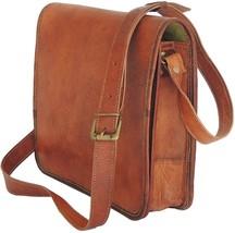 Men's Leather Messenger Bag, Brown Leather Bag, Laptop Bag, Office Bag 1... - $52.99