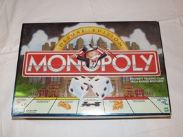 Monopoly Deluxe Edition Parker Brothers Missing Dice and Instructions Pr... - $27.22