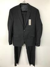 Kenneth Cole New York Mens Slim Fit 2 Button Suit 38 Small - $57.90