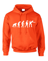 Adult Hoodie Pool Snooker Evolution Humor Billiards Top - $23.94+