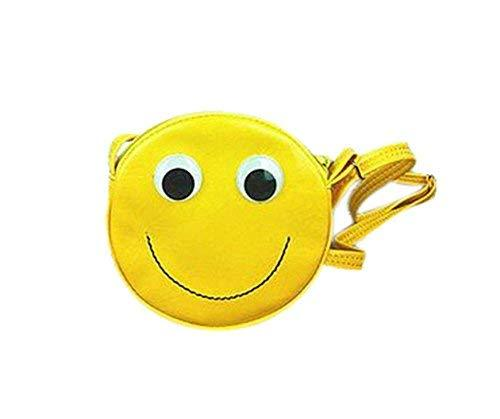 PANDA SUPERSTORE Fashion Cartoon Yellow Smile Child Messenger Bag/Purse