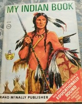 My Indian Book by Bruce Grant Rand McNally Junior Elf Book 1968 - $4.94