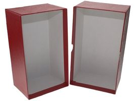Guardhouse Modern Size Currency Storage Box, Red - 7.5 x 4.25 x 3.25 image 4