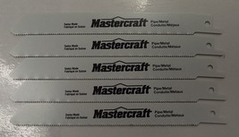 "Mastercraft by Bosch 6"" x 18tpi Bi-metal Recip Saw Blades Swiss 16-30210 5pcs. - $4.46"