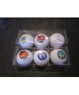 Maui Golf Balls 6 Different Designs Cut- Proof Surlyn Cover Made in the USA - $4.40