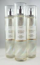 (6) Bath & Body Works Twinkling Nights Fine Fragrance Mist Spray 8oz New - $71.99
