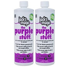 Jack's Magic The Purple Stuff Pool Stain and Scale Preventer - 2 x 1 Quarts - $73.70