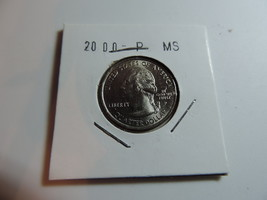 2000 P Massachusetts US American Quarter coin A712 - $3.21