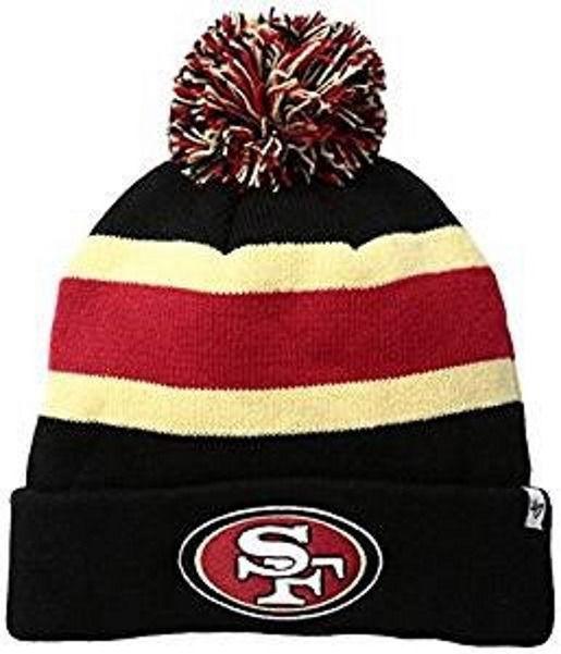 San Francisco 49ers Breakaway Cuff Knit Hat NFL Men's Beanie One Size