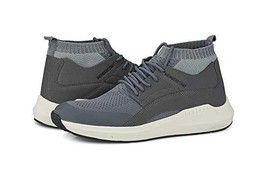 Members Only Men's Knit Sock Mesh Fashion Sneaker Grey - $89.54