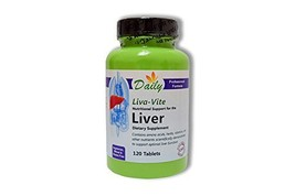 Daily Manufacturing - Liva-Vite Nutritional Support for the LIVER |120 T... - $30.02