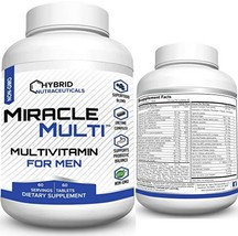 MiracleMulti Performance Blend, Best Multivitamin for Men, Vitamin and Mineral S - $25.43