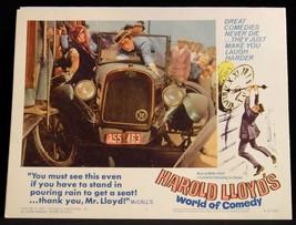 Harold Lloyd World of Comedy 1962 LOBBY CARD Safety Last 3 - $23.02