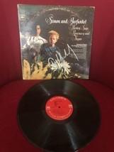 Paul Simon Art Garfunkel Autographed Parsley Sage Rosemary Thyme Vinyl L... - $294.00