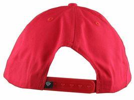 Diamond Supply Co. Eternal Diamond Red Snapback Baseball Hat NWT image 4
