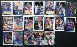 1993-94 Upper Deck Detroit Pistons Team Set Of 19 Basketball Cards - $5.00