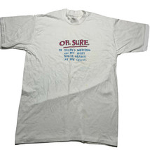 Vintage 80s 90s Center Stars Sz XL Oh Surf Comedy Single Stitch T Shirt ... - £17.94 GBP