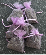 French Lavender relaxing flower sachets wedding favors small gifts sheer... - $6.00