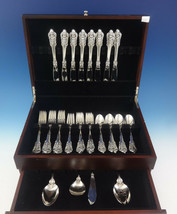 Grande Baroque by Wallace Sterling Silver Flatware Set Service 36 Pieces - $2,100.00