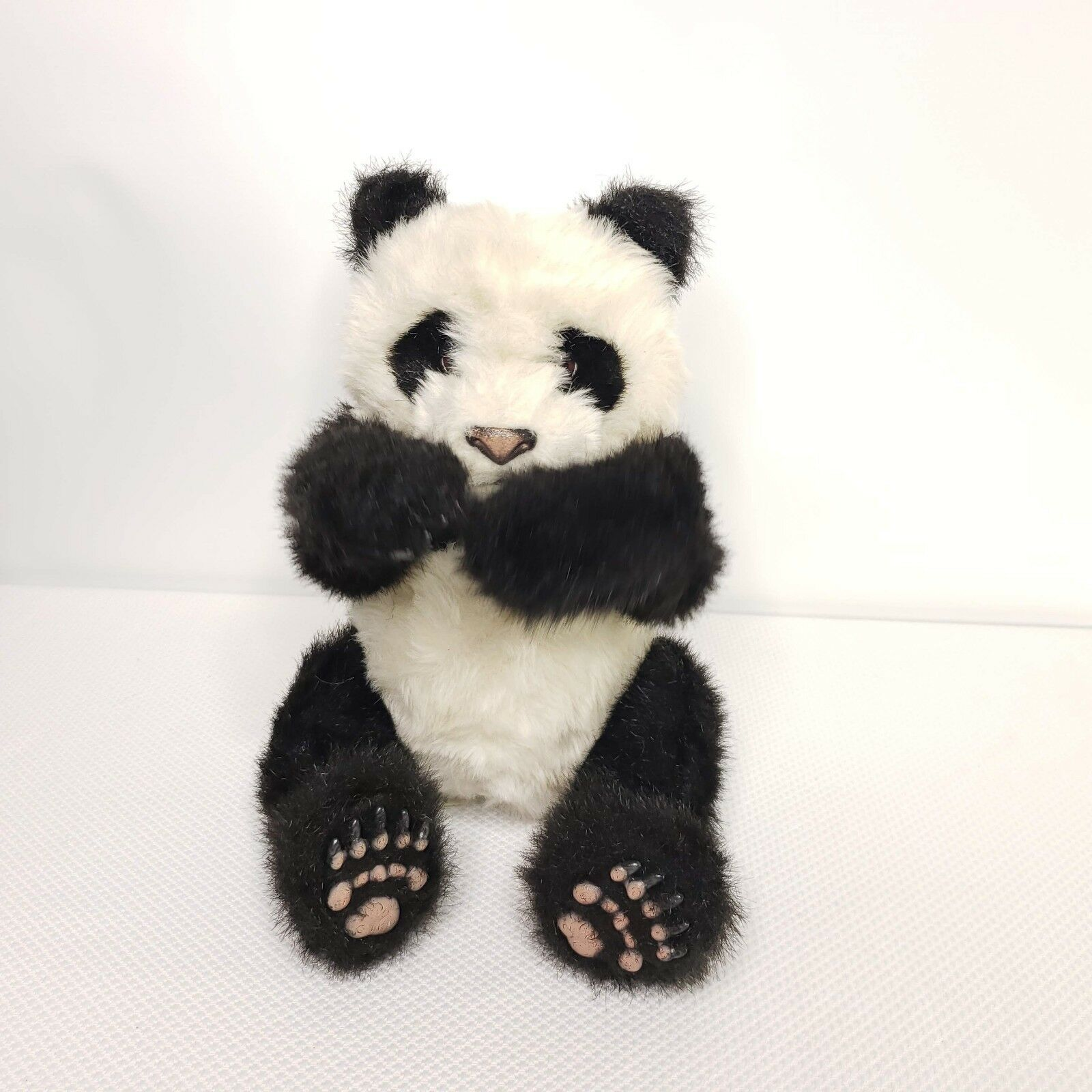 LUV FurReal Friends Panda Bear Cub Large Interactive 2004 Tiger Hasbro Working