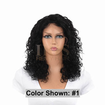 """Jk Trading Iris Front & Back Part Lace 100% Remy Human Hair Wig """"Rachel 16 Inch"""" - $189.99"""