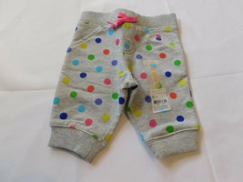 Carter's Baby Girl's Capri Pants Heather Grey Polka Dots 12 Months NWT - $24.74