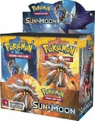 Pokemon TCG Sun & Moon Lost Thunder + Sun & Moon Base Set Booster Box Bundle
