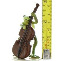 Hagen Renaker Frog Froggy Mountain Breakdown Double Bass Ceramic Figurine image 7